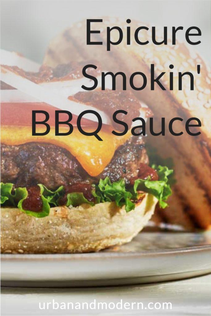 Epicure Smokin' BBQ Sauce 6