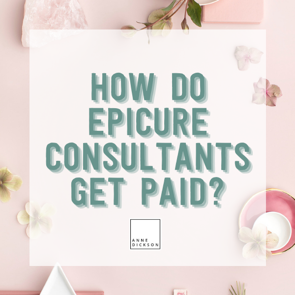 How do Epicure Consultants get paid?