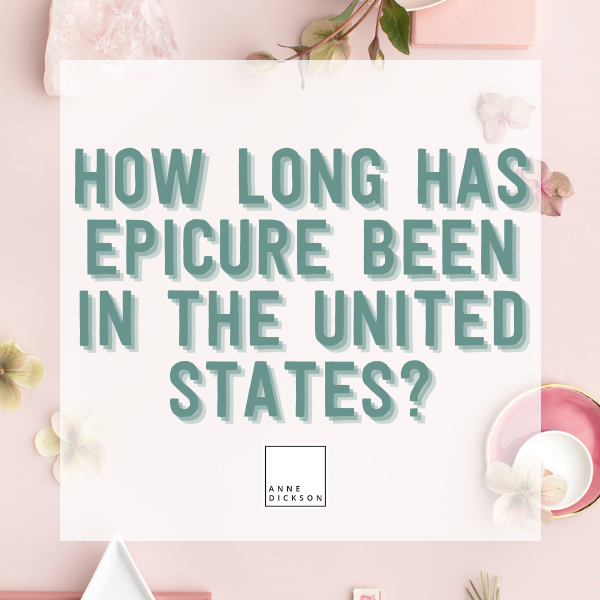 how long has epicure been in the usa