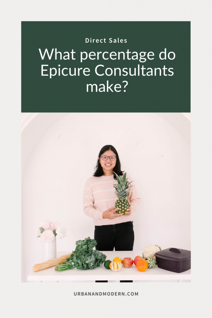 what percentage do epicure consultants make?