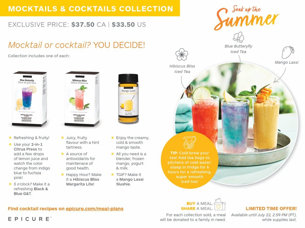 mocktails and cocktails collection