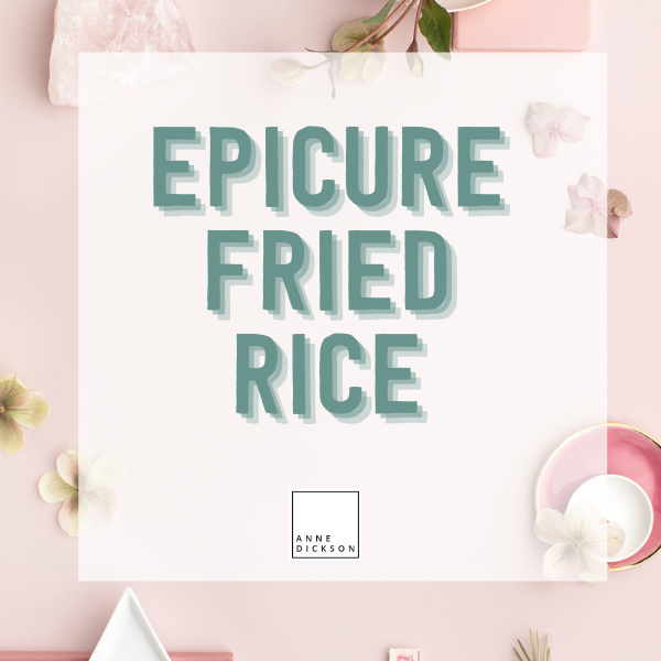 Epicure Fried Rice