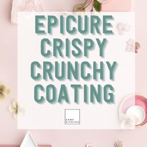 Crispy Crunchy Coating