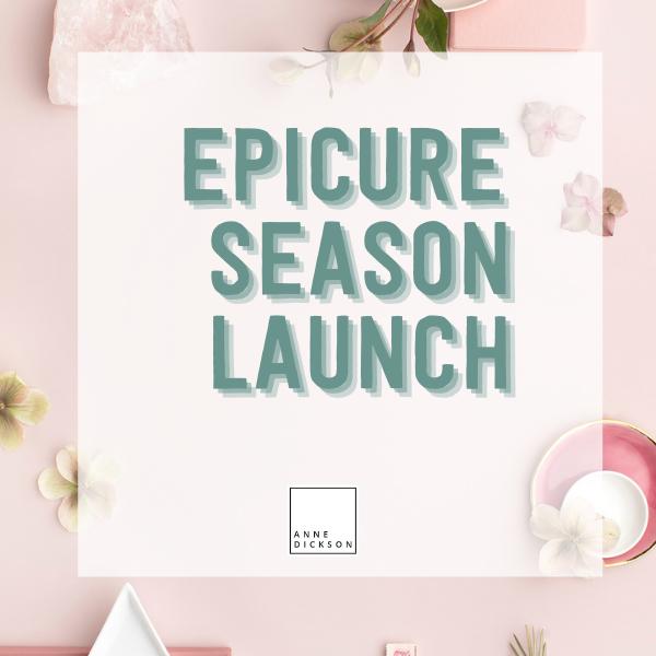 Epicure Season Launch Fall 2021