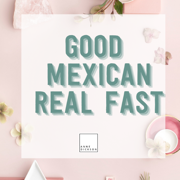 good Mexican meal kit