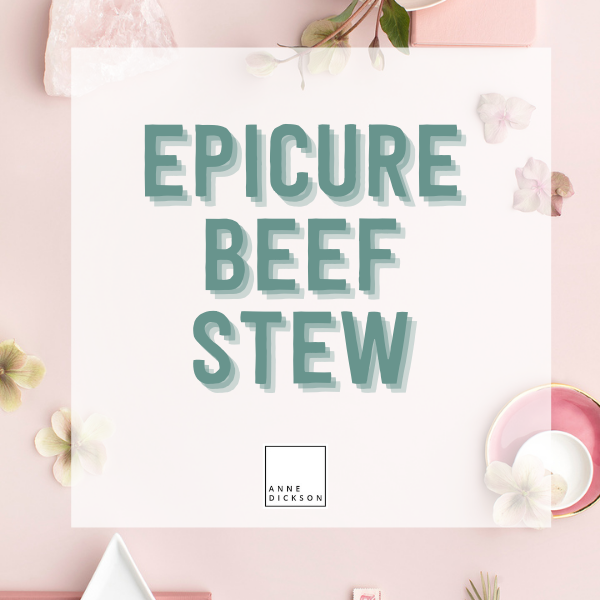 Epicure Beef Stew