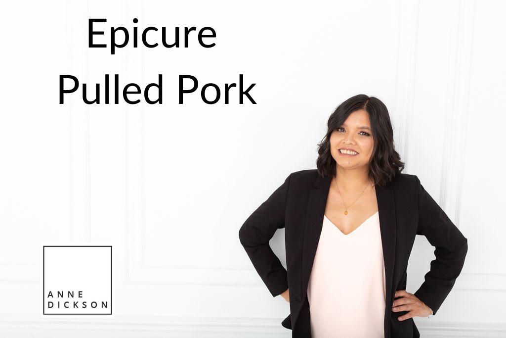 epicure pulled pork