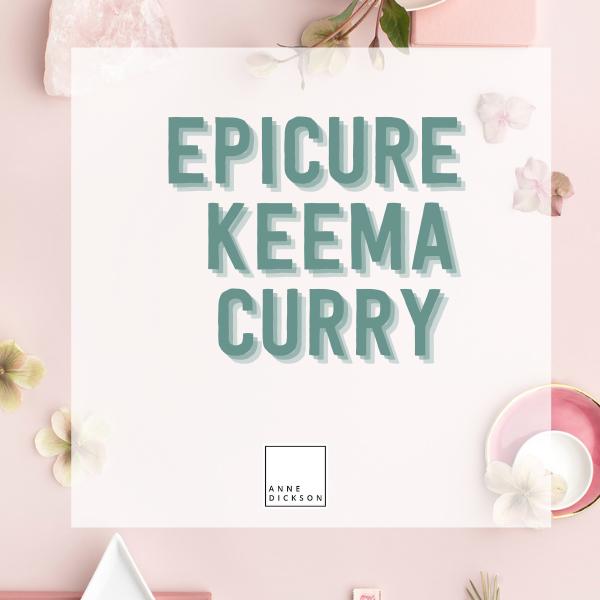 epicure keema curry