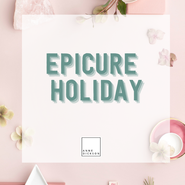 Epicure Holiday 2021
