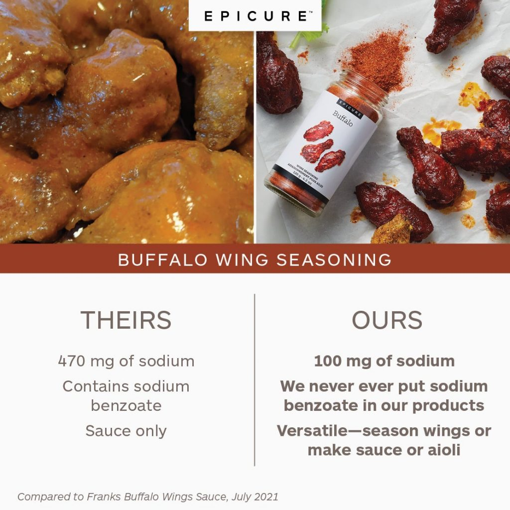 epicure chicken wings